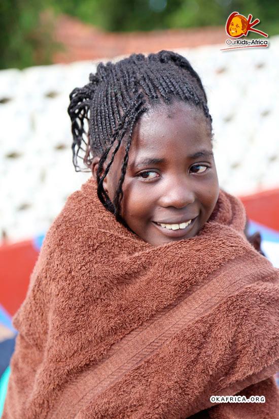 Настоящая африканочка