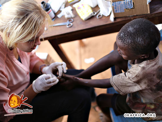Clinic for the street kids