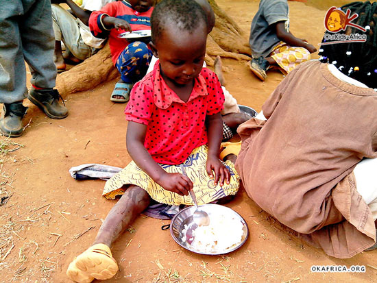 Food of African children